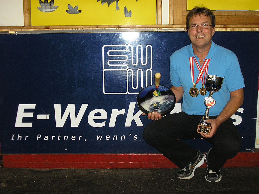 2facher Staatsmeister in Stocksport Mario Eiles